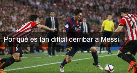 Messi, prodigio biomecánico