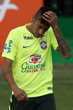 Neymar insultó al árbitro