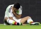Chicharito se rompe la clavícula y queda fuera de la Copa de Oro