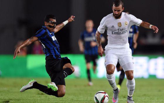 El Madrid vence al Inter (3-0) y Kiko Casilla debuta en la portería