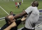 Paulo Wanchope, a golpes en el estadio de Panamá