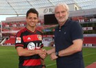 El 'Chicharito' Hernández ficha por el Bayer Leverkusen