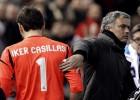 Casillas se reencuentra con Mou