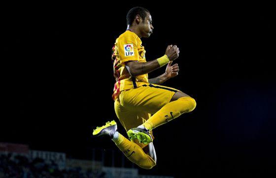 El Barça desmonta el muro del Getafe con un omnipresente Neymar