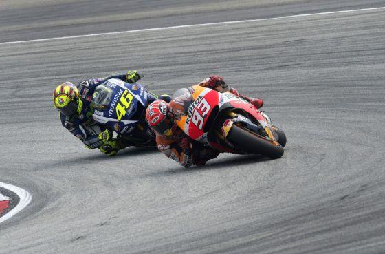 """Nakamoto: """"La palanca del freno de la moto de Marc recibió un impacto"""""""