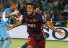 Rafinha pacta con el Barcelona la mejora de su contrato
