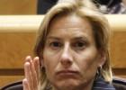 La senadora Marta Domínguez, candidata en espera de sentencia
