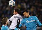 El Valencia cae ante el Zenit y se complica el pase a octavos