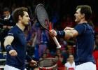 Los Murray acercan la Copa Davis a Gran Bretaña