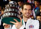 Gran Bretaña celebra la Copa Davis