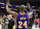 Kobe es aclamado pero los Sixers acaban con su racha infernal