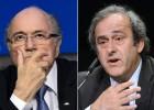 A FIFA suspende Blatter e Platini por oito anos