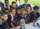 Un aprendiz de Xavi guía al Barça hacia el título en Miami