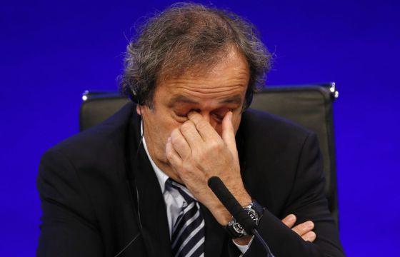 Michel Platini, en 2013.