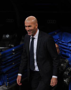 Zidane, antes del partido ante el Deportivo.