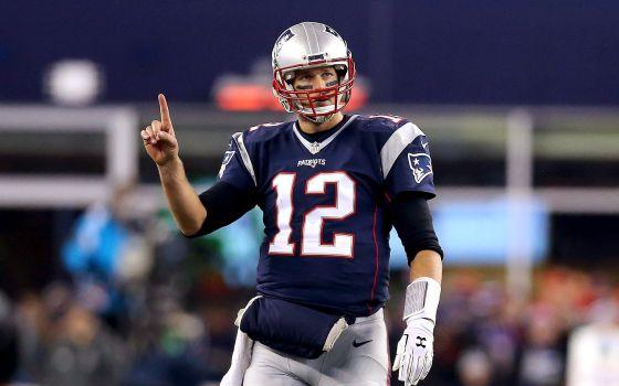 Tom Brady, en el partido de este sábado