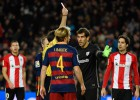 El tridente azulgrana rompe al Athletic
