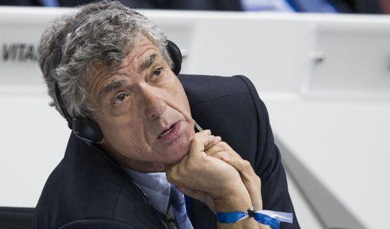 Ángel María Villar, en un Congreso de la FIFA el año pasado en Zúrich.
