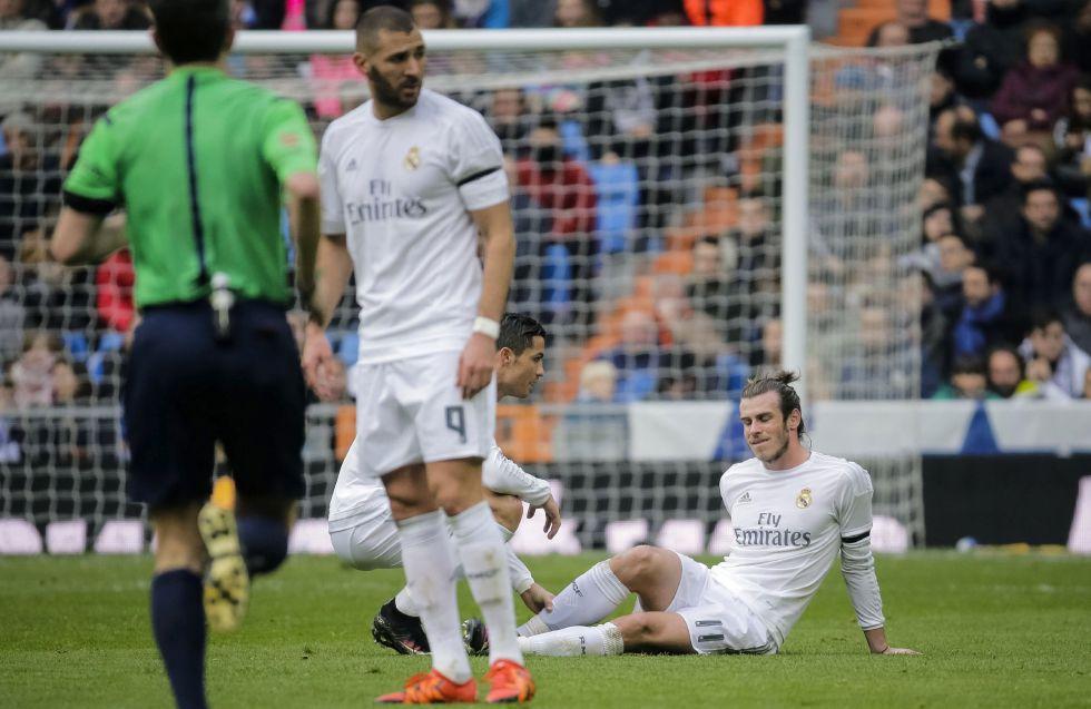 Gareth Bale estará de baja de dos a tres semanas
