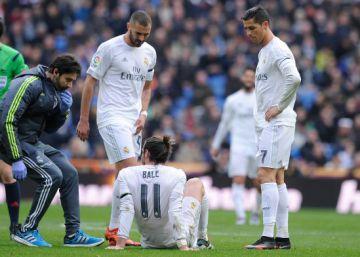 Bale, de dos a tres semanas de baja