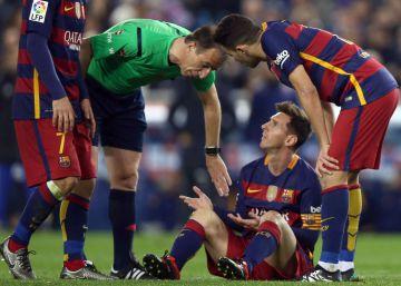 El talento del Barcelona puede con el entusiasmo del Athletic