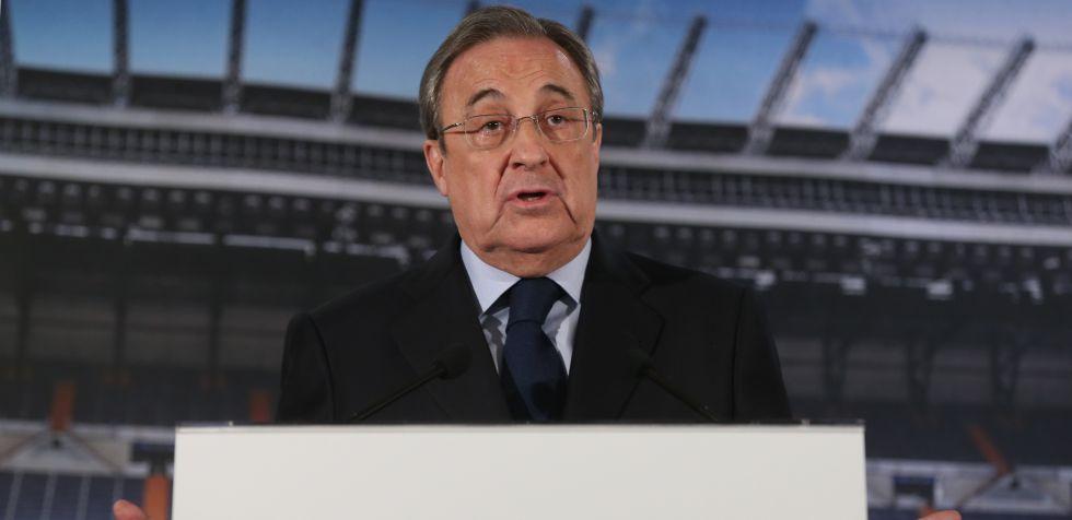 Florentinio Pérez, presidente del Real Madrid