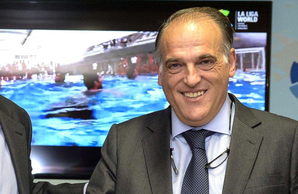 Javir Tebas, presidente de la LFP.