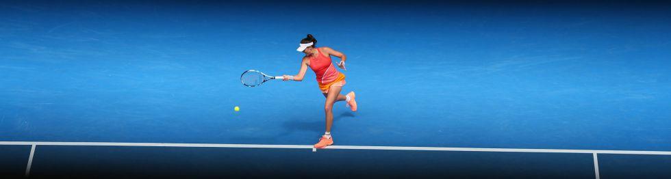 Muguruza en el Open de Australia 2016