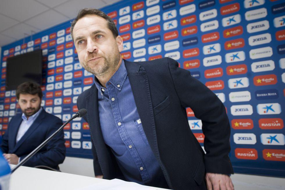 Óscar Perarnau, este viernes en la Ciudad Deportiva Dani Jarque.
