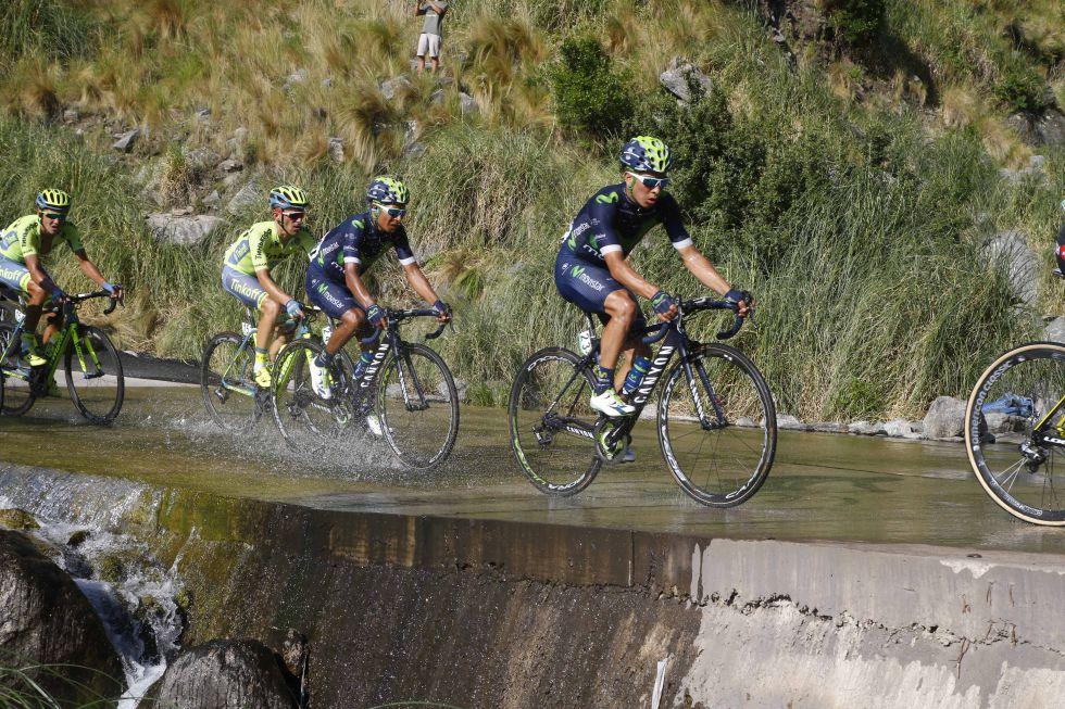 Dayer y Nairo Quintana en el Tour de San Luis