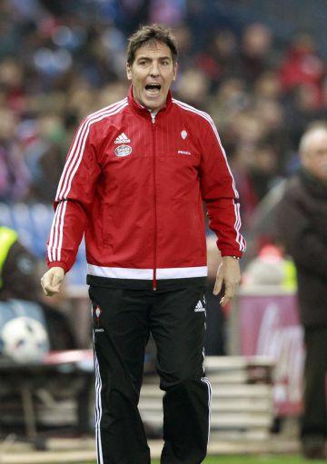 Berizzo, en la banda del Calderón