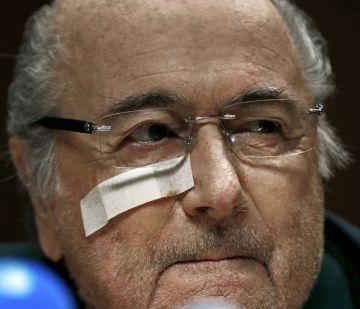 Sepp Blatter, presidente suspendido de la FIFA.