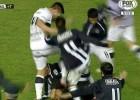 Pelea salvaje en el Estudiantes-Gimnasia del fútbol argentino