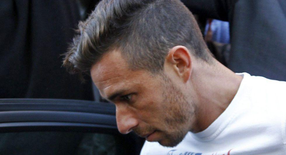 El futbolista Rubén Castro.