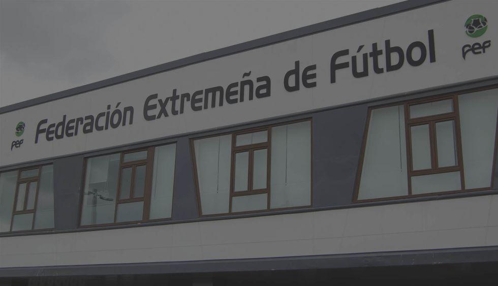 Sede de la Federación Extemeña de Fútbol.