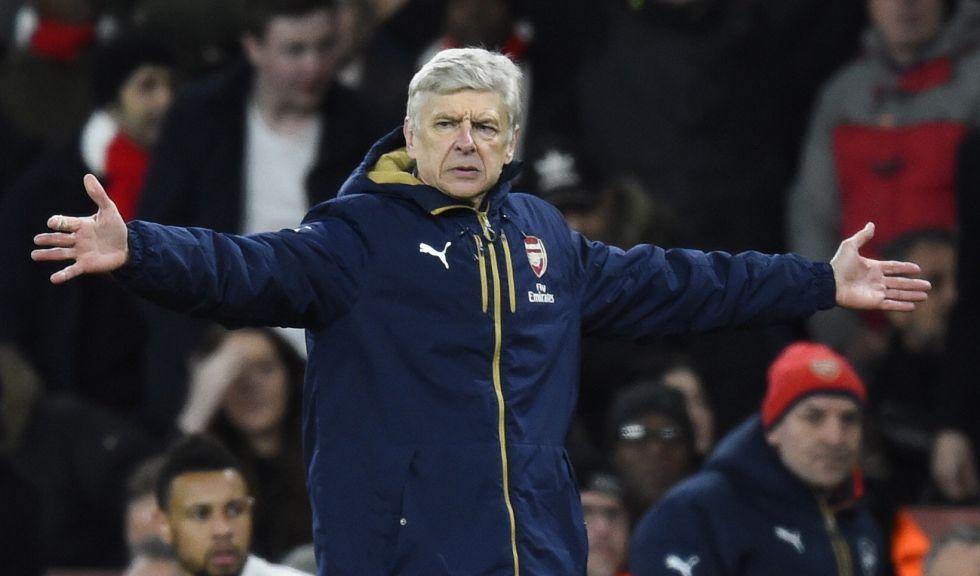 Arsene Wenger, en el Arsenal-Southhampton.