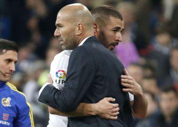 """Zidane: """"Lo más importante es mi relación con los jugadores"""""""