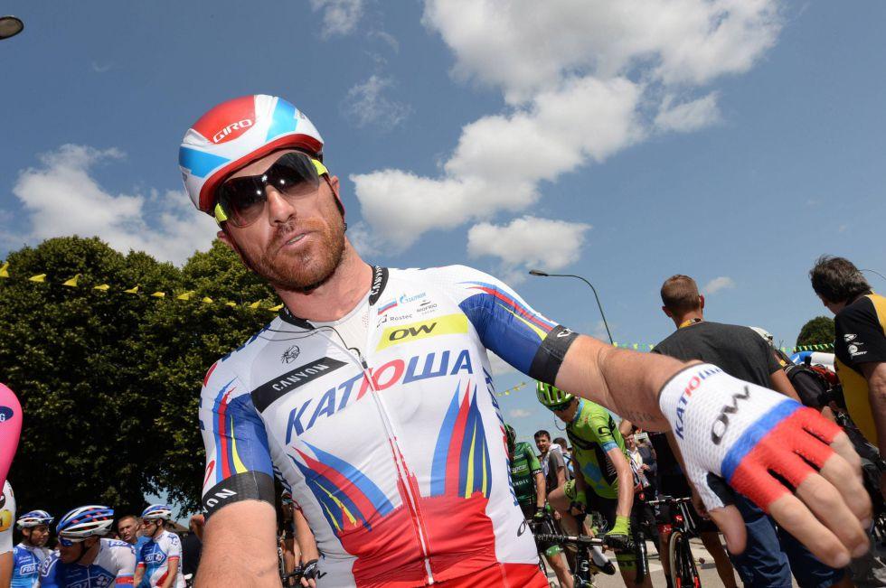 Luca Paoline en una etapa del último Tour de Francia.