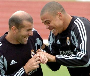 Ronaldo y Zidane, cuando coincidieron en el Real Madrid