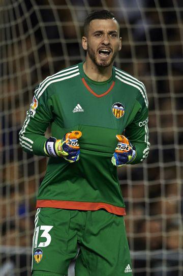 Jaume, durante la vuelta de las semifinales de Copa entre el Barcelona y el Valencia
