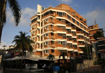 El hotel del que huyeron los hermanos Gourriel en Santo Domingo.