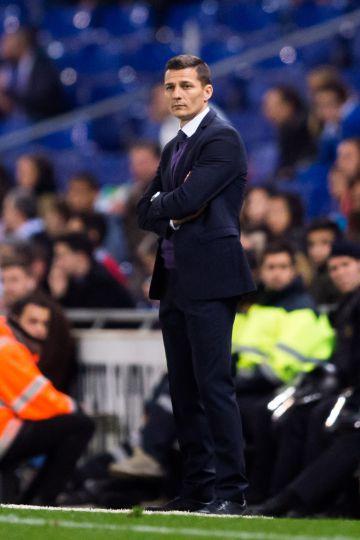 Constantin Galca, entrenador del Espanyol.