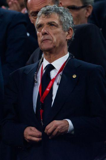 Villar en la pasada final de Copa.