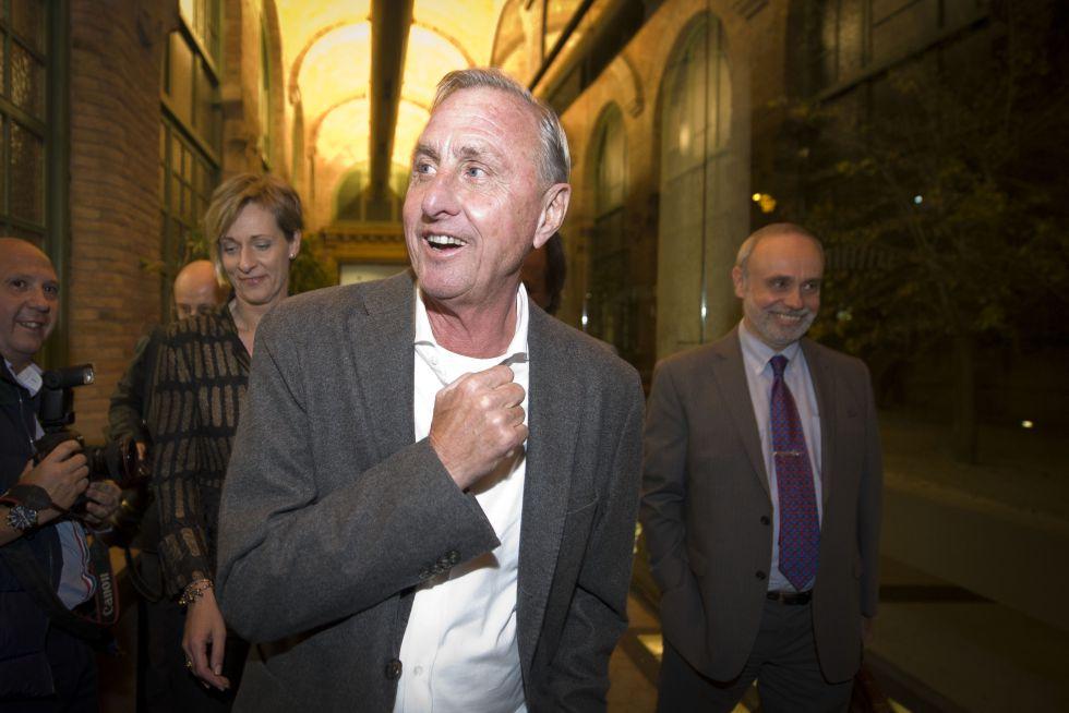 Cruyff, el pasado noviembre.