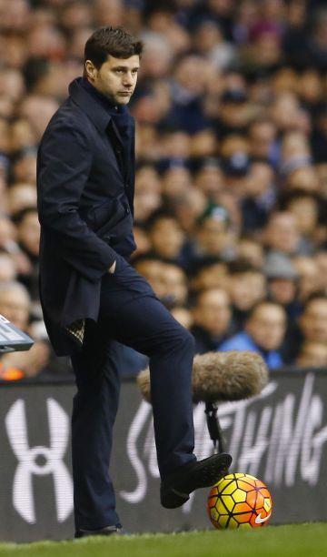 Pochettino, en el Tottenham-Watfor.