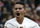James Rodriguez celebra su gol ante en Athletic.