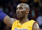 Kobe, en un partido con los Lakers.