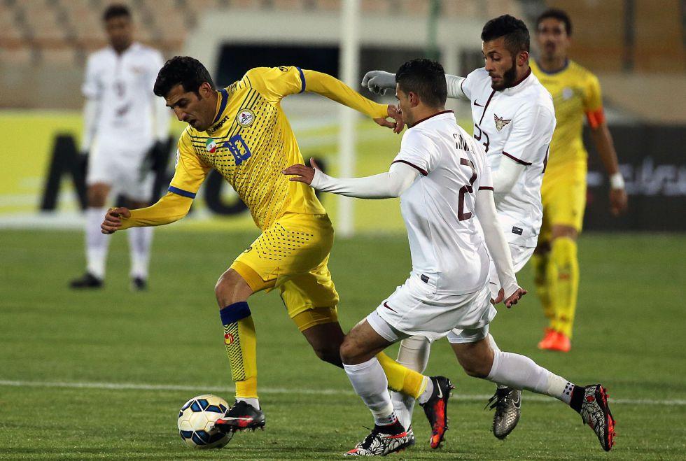 Partido de la Champions asiática en Irán.