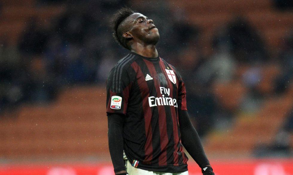 Balotelli durante el Milan-Udinese de la semana pasada.