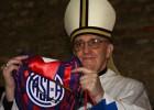 El papa Francisco, loco por el fútbol